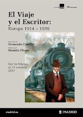 Exposición. El viaje y el escritor. Una idea de  Fernando Castillo pintada por Damián Flores
