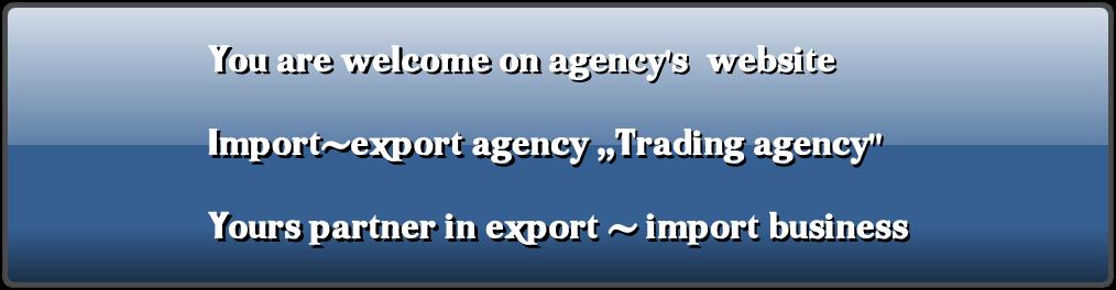 Import export agent Shalva Chkhetia