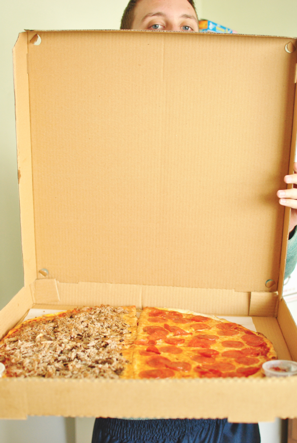 giant pizza