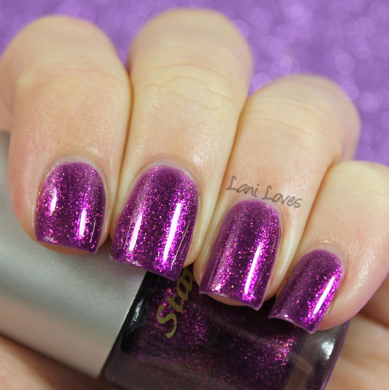 Star Kin Thparkly nail polish swatch