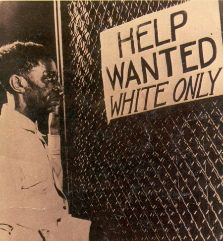 racism and segregation 1930s