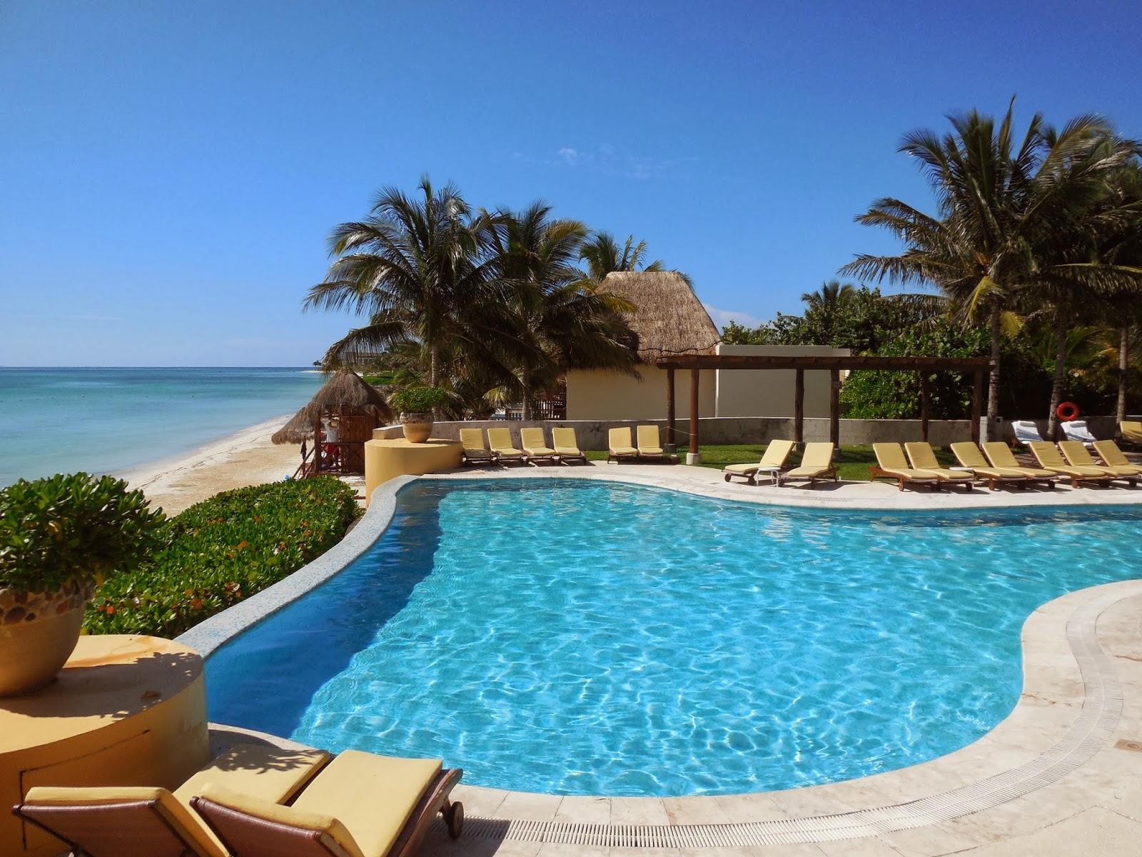 Mi selecci n de hoteles de lujo en la riviera maya m xico for Follando en la piscina del hotel