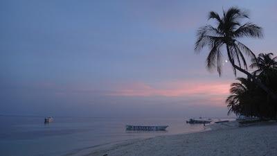 Malapascua beach Sunset