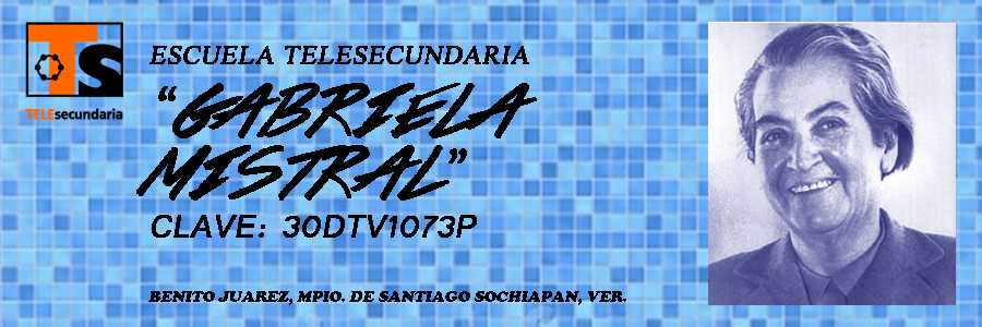 "TELESECUNDARIA ""GABRIELA MISTRAL"""