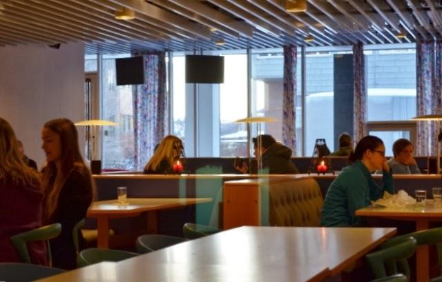 cafeteria universidad fisioterapia tromso noruega