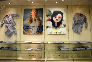 En la tienda de ropa ;)