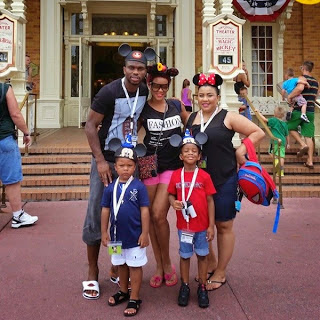 With love from Disneyland! Joseph Yobo holidays with family in California (Photos)