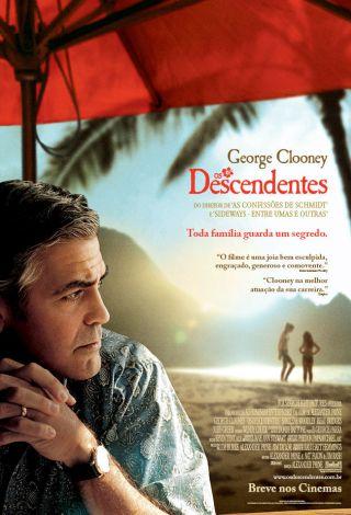 filme os descendentes poster cartaz george clooney