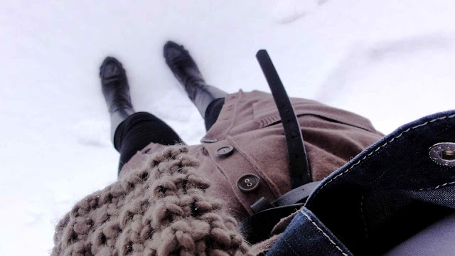 Mink+Snow3 Mink & Black Crampon Style!