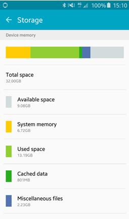 حل مشكلة عدم توفر مساحة كافية insufficient storage available error في أجهزة أندرويد