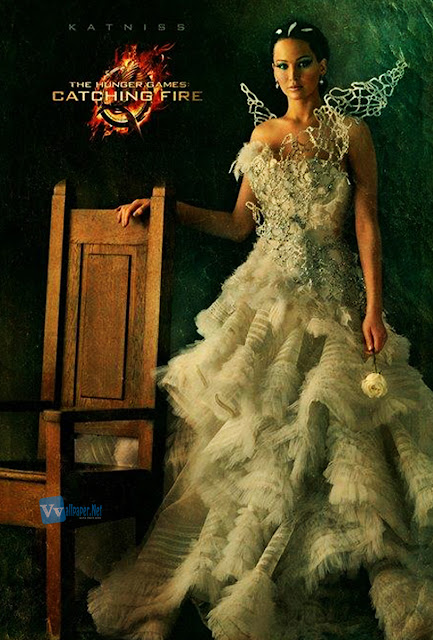 The Hunger Games Catching Fire Katniss Poster HD