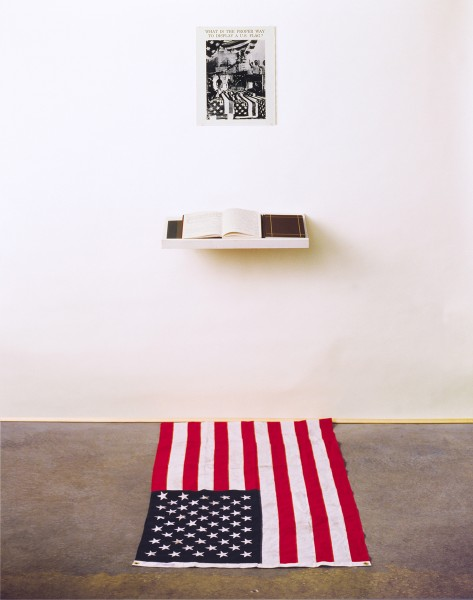 Sunderland art student 39 what is the proper way to for Proper us flag display