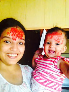 happy dashai happy cute baby nepali