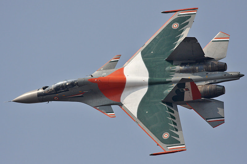 Su-30MKI India Multi-Role Fighter Jet