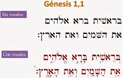 PASAJE BÍBLICO ESCRITO EN HEBREO