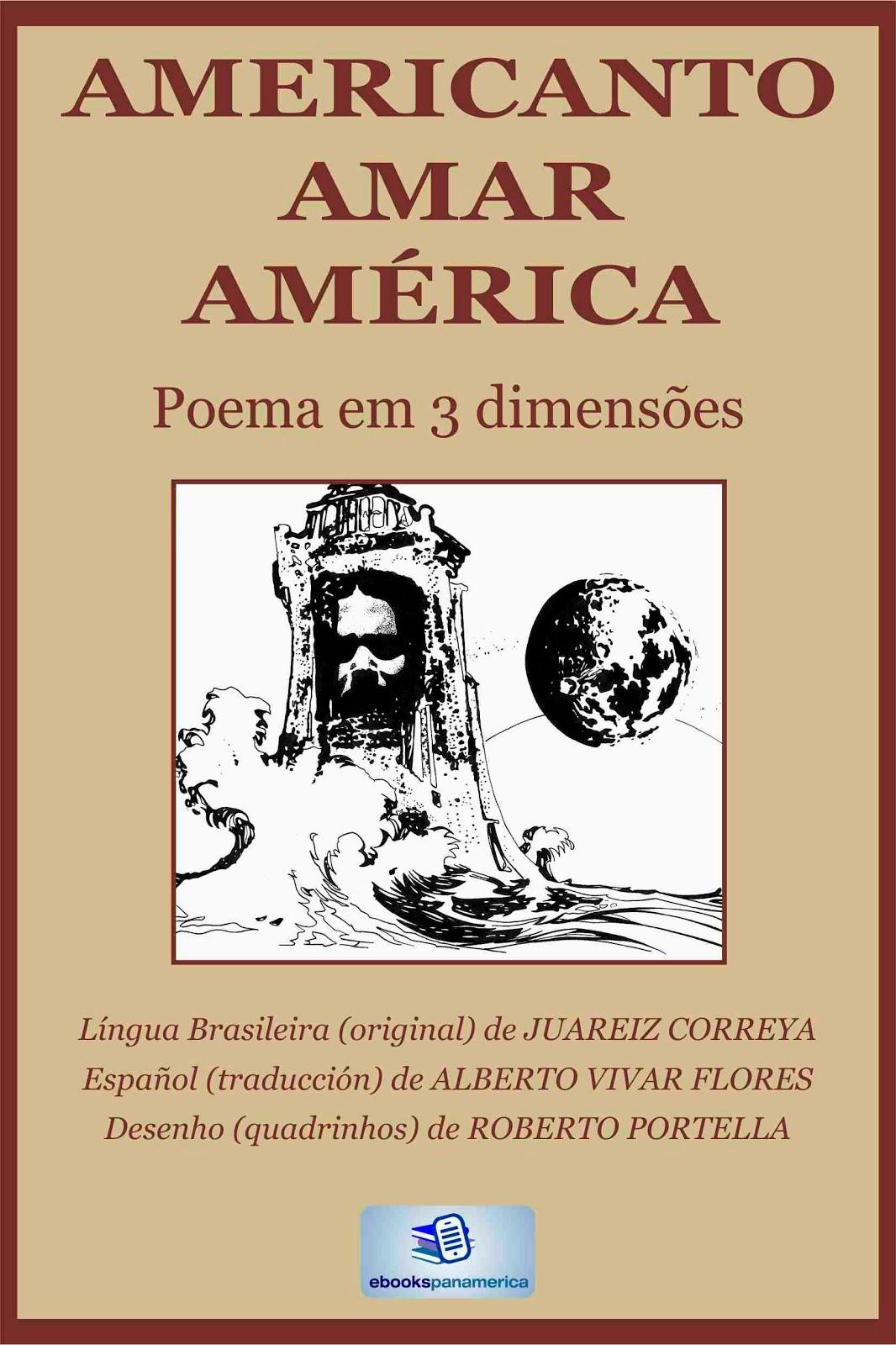 AMERICANTO AMAR AMÉRICA - Poema em 3 Dimensões