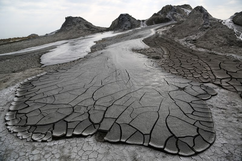 Mud Volcanoes of Gobustan | Azerbaijan