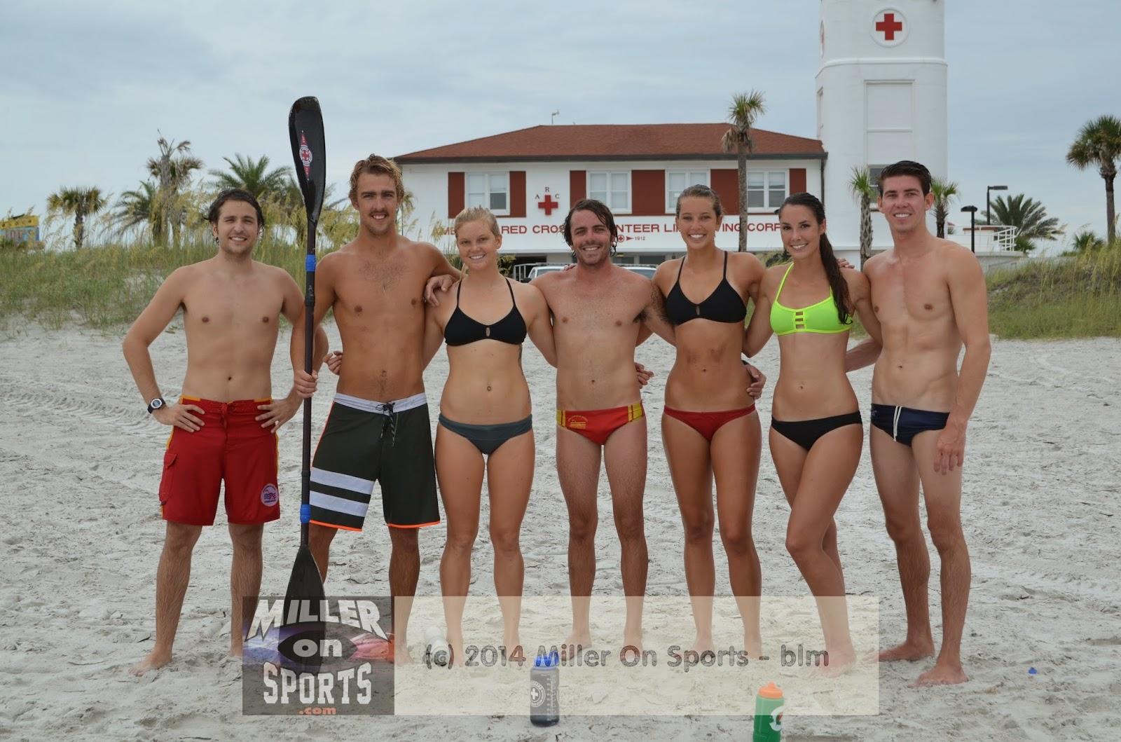 Jacksonville Beach Lifeguards Prepare For Virginia Beach