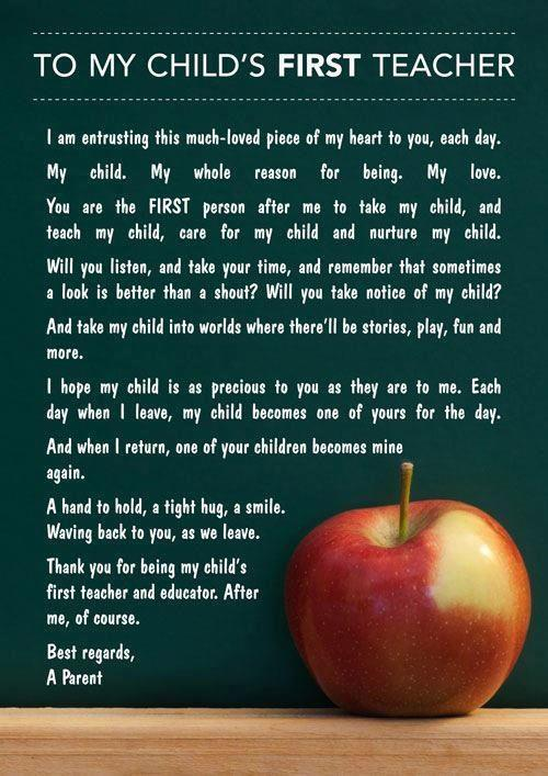 First Day Of School For Toddlers Quotes