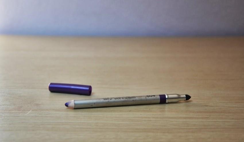 Review: Kiko Vibrant Eye Pencil 604