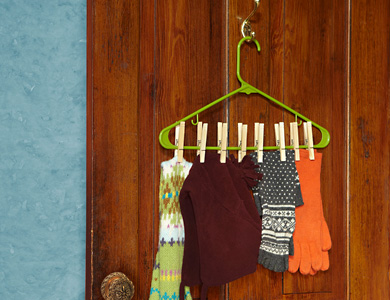 11 Ways To Organize With Hangers Organizing Made Fun 11