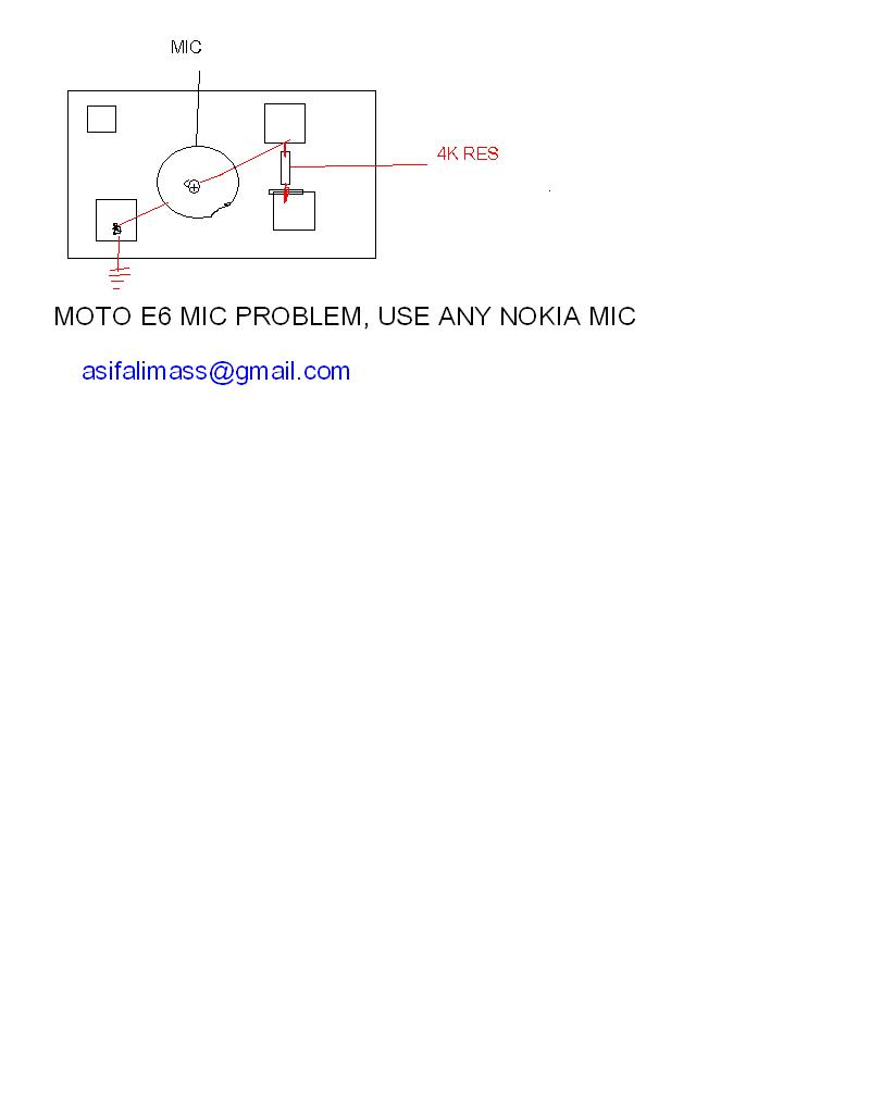 motorola rocker e6 mic replace with normal two print mic problem solution all about mobiles