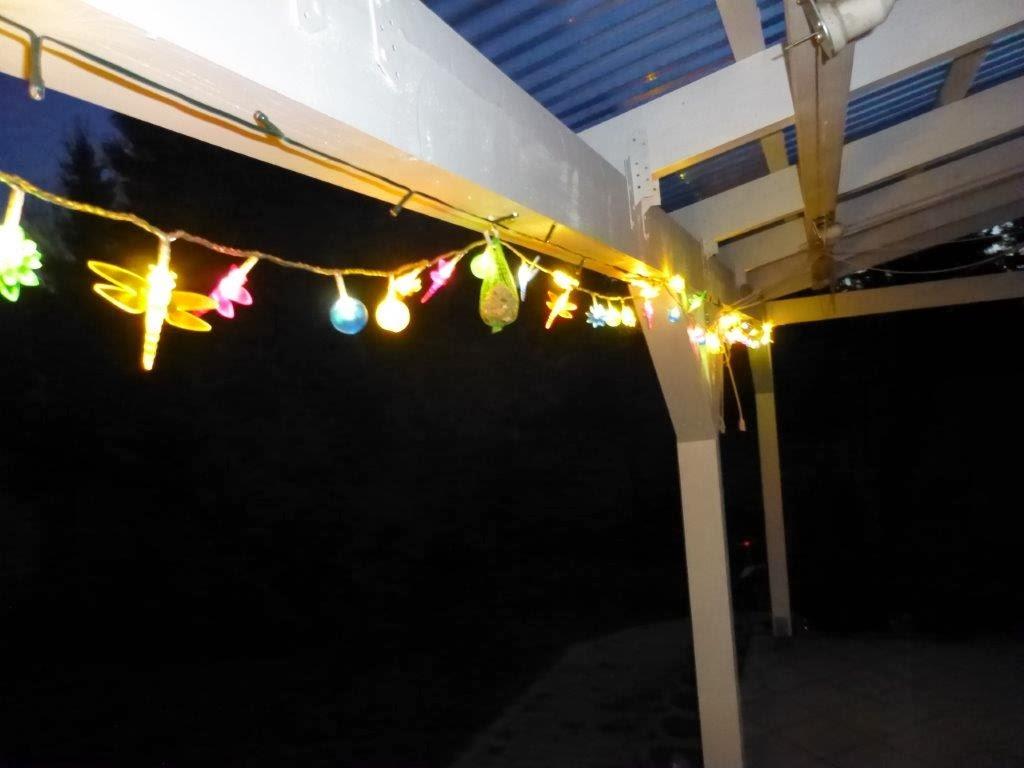 Heike testet: LUMIDA Casa Lichterkette von QVC und der Sommer wird ...
