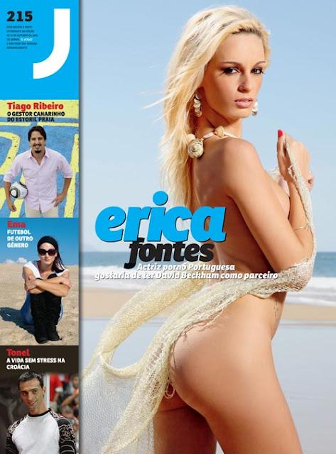 Erica Fontes - A actriz Porno Portuguesa