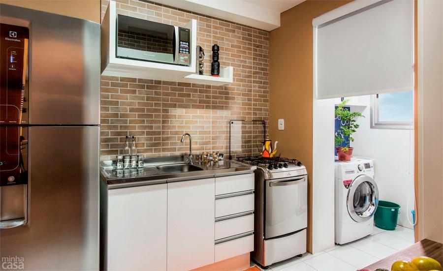 Escolhendo os revestimentos para cozinha  Decor Alternativa # Pia Cozinha Simples