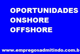 OPORTUNIDADES ONSHORE OFFSHORE