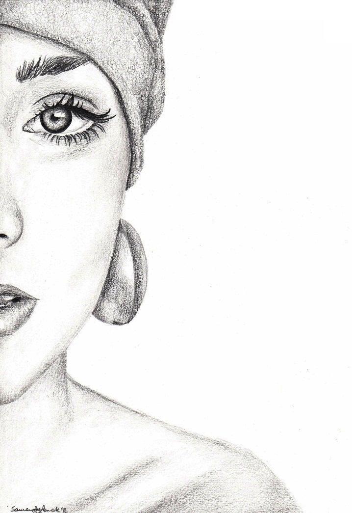 Moja pasja, moje hobby.: Pół twarzy