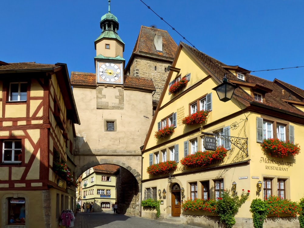 Romantic Road Attractions : Rothenburg Ob Der Tauber  altstatd