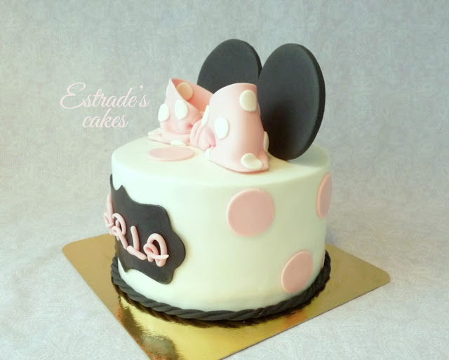 tarta Minnie Mousse 3