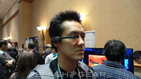 Vuzix SmartGlasses on CES 2013