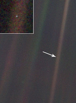 earth: the pale blue dot