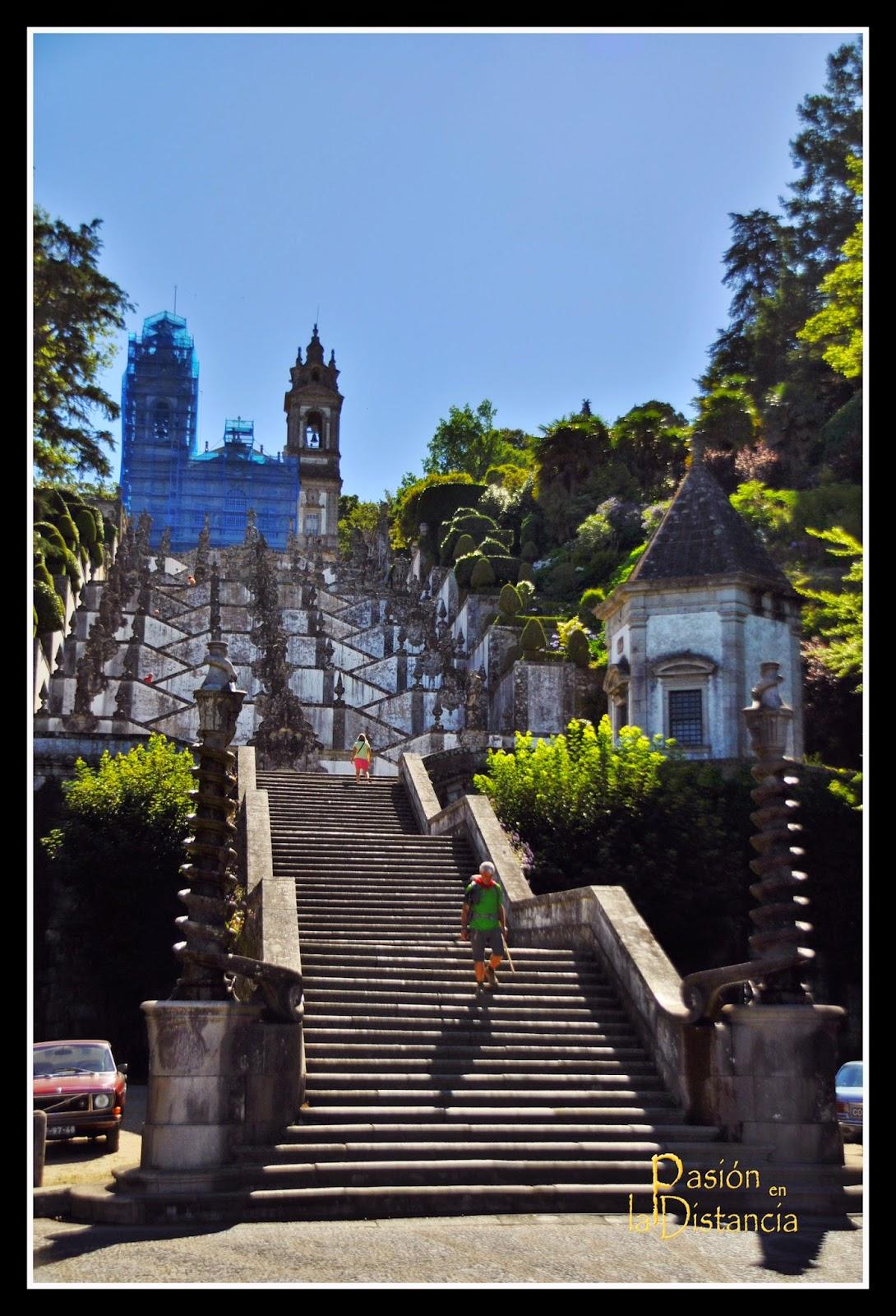 Escalera de los Sentidos Bom Jesú do Monte