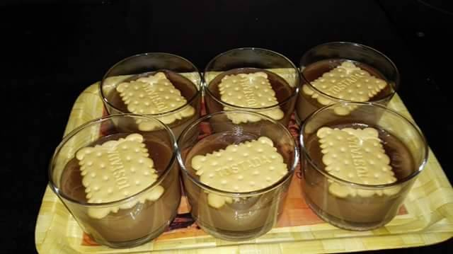 receta natillas de chocolate cocina facil