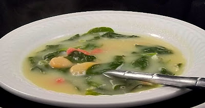 Ham and Spinach Soup