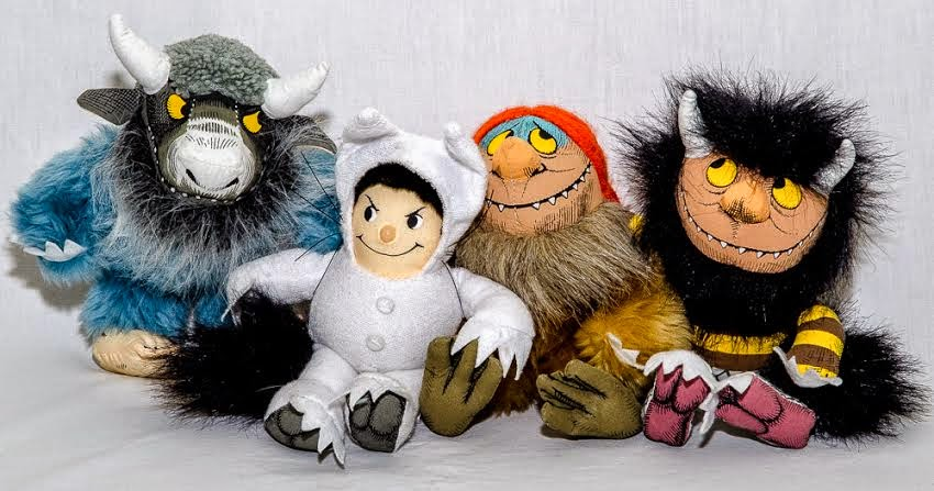 Wild Things soft toys