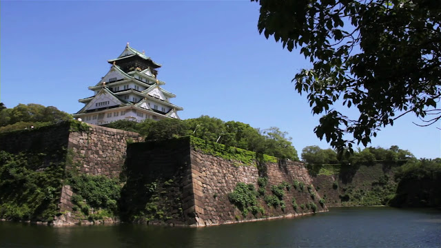 Япония - замок Осаки