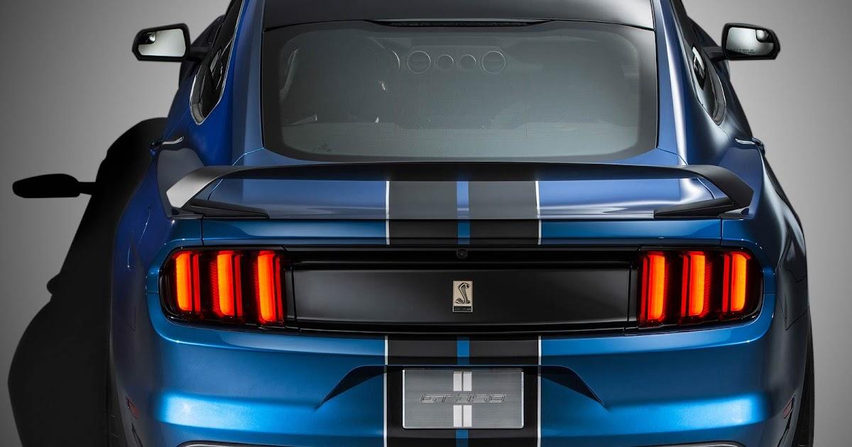 Mustang Shelby® GT350R: fotos, vídeo e especificações