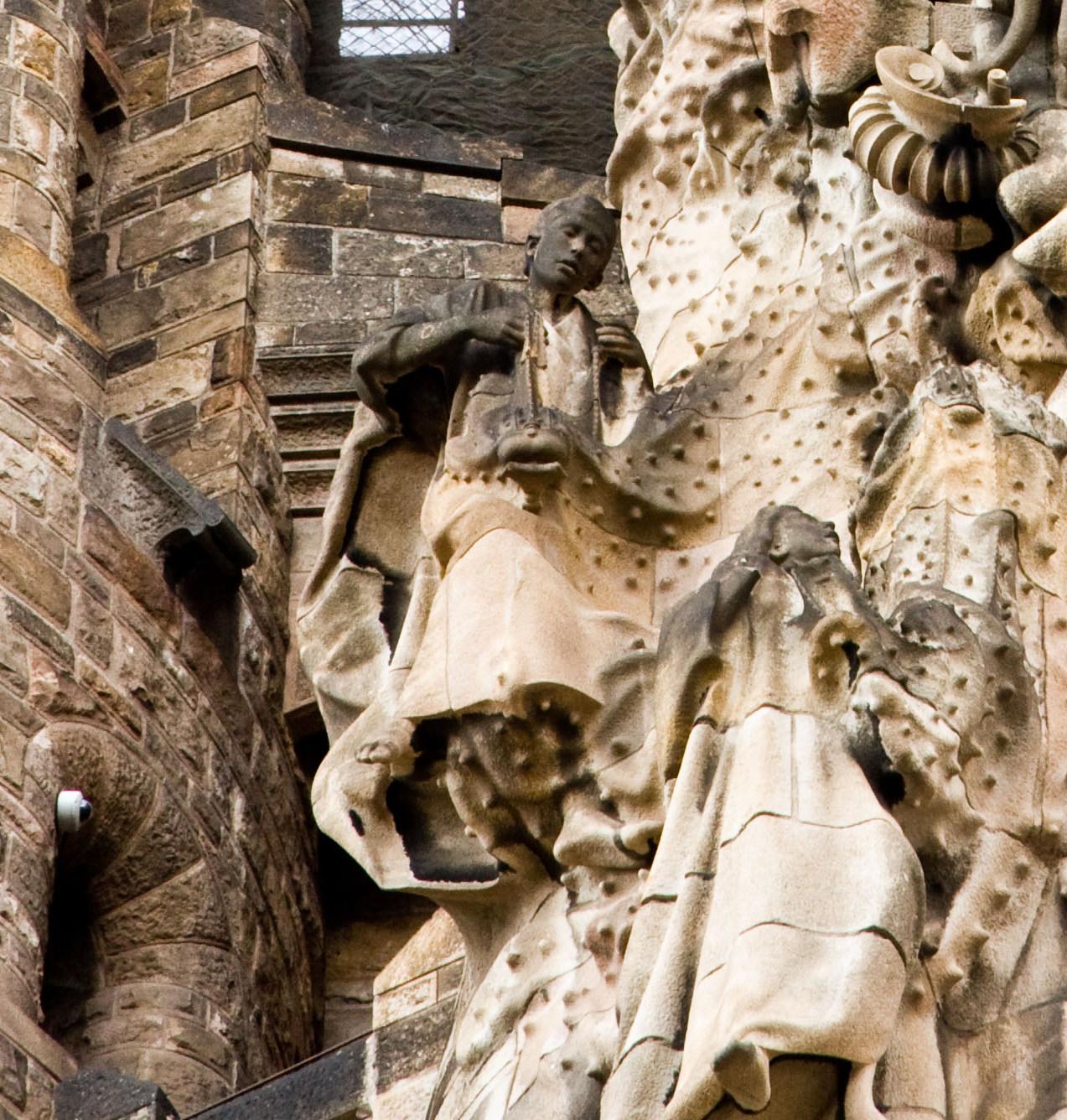Decoraciones Piedra Tallada Entrada Finca
