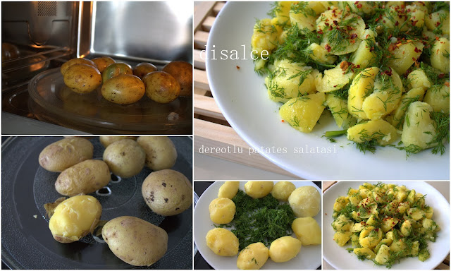 nefis dereotlu patates salatası