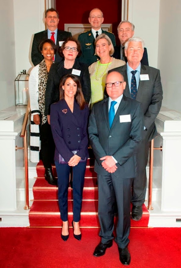 Princess Marie Attends A Conference In Hornbæk