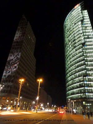 festival of lights, berlin, illumination, 2012, potsdamer platz, sony center