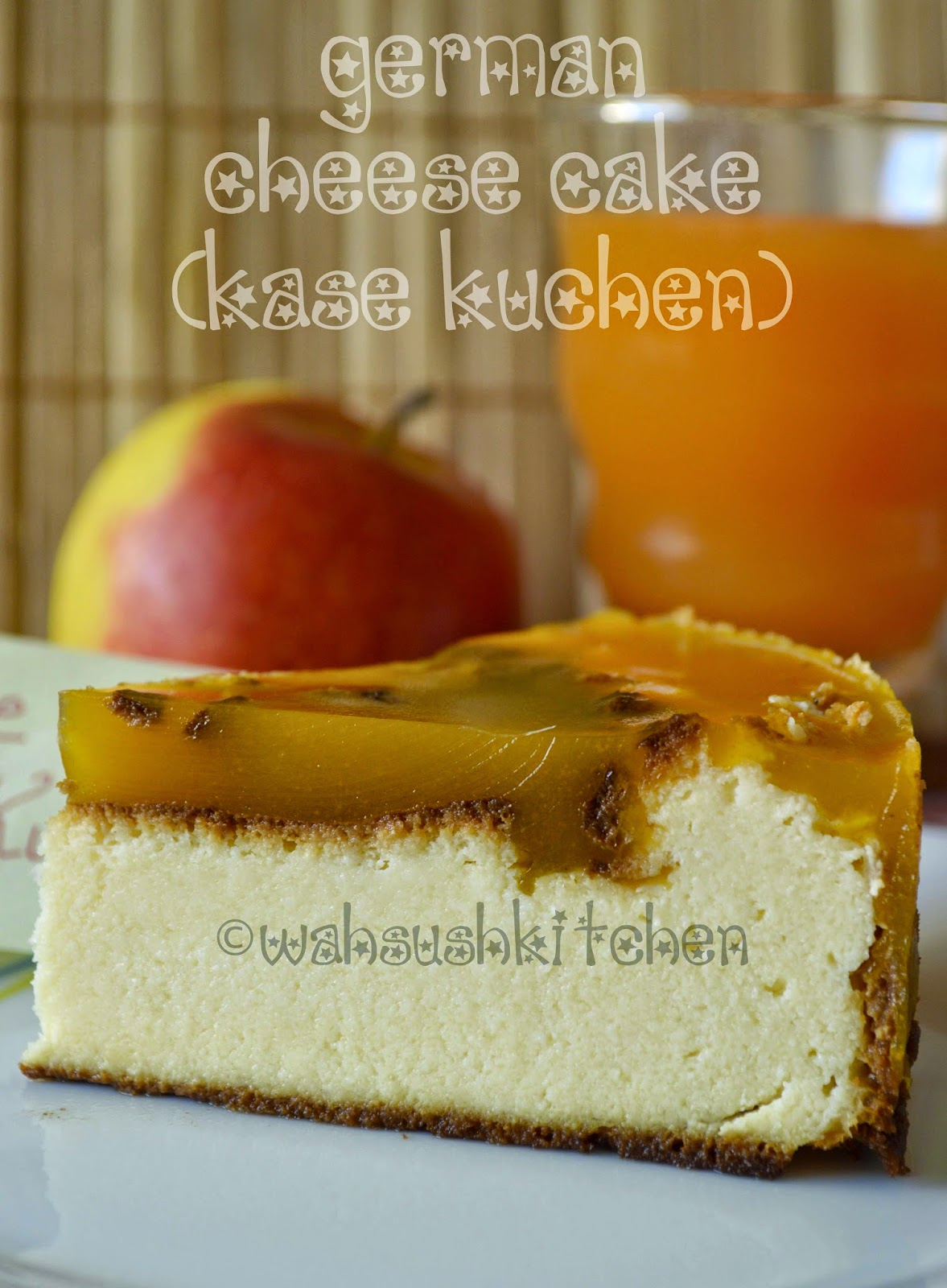 German cheese cake