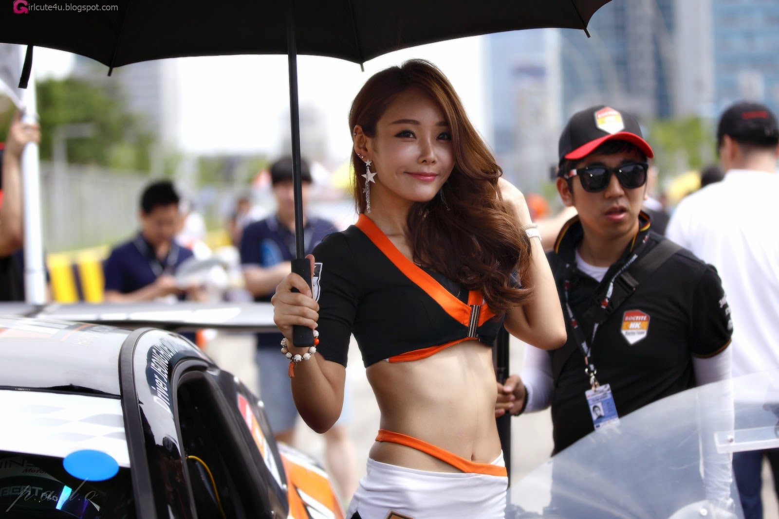 1 Lee Da Hee - Korea Speed Festival 2014 - very cute asian girl-girlcute4u.blogspot.com