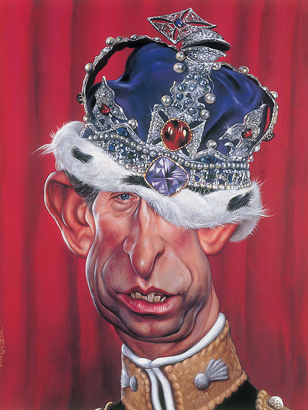 Prince Charles - New Pop Realism - Sebastian Krüger 1963