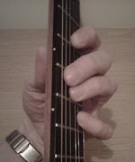 Here's the fingering for this guitar chord: