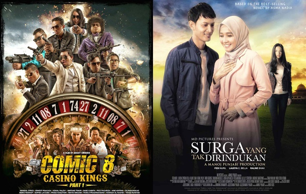 Daftar 10 Film Indonesia Terlaris Tahun 2015